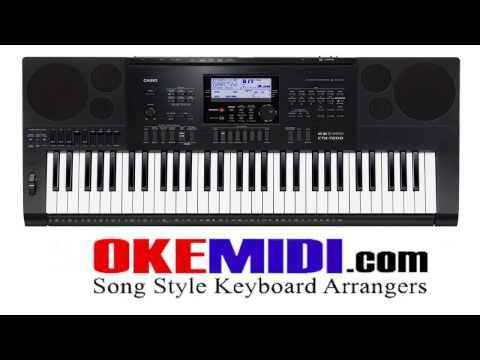 Keyboard Casio CTK 7200 7000 6250 Styles Dangdut Ballad Karo