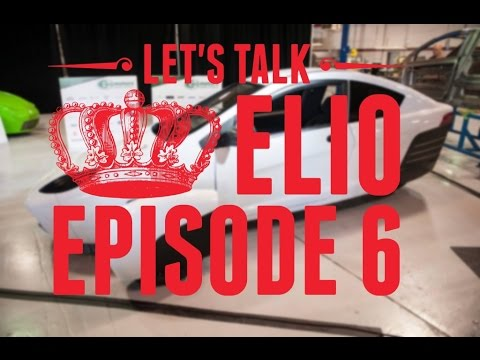 Let's Talk Elio Motors #6 Paul Elio E Series Unveil
