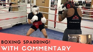 First Day Sparring * With Amateur Boxing Champions! / With commentary