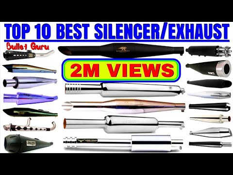 #18 TOP 10 Best sound Silencer / Exhaust of Royal enfield / Top 10