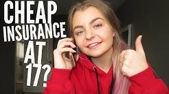 Cheap insurance at 17?