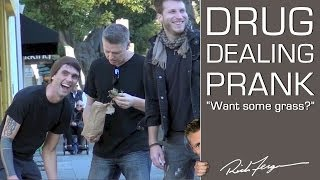 Public Drug Dealing Prank - SCORE SOME GRASS!