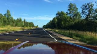 Driving the Olds Over The Worst Freshly Paved Highway