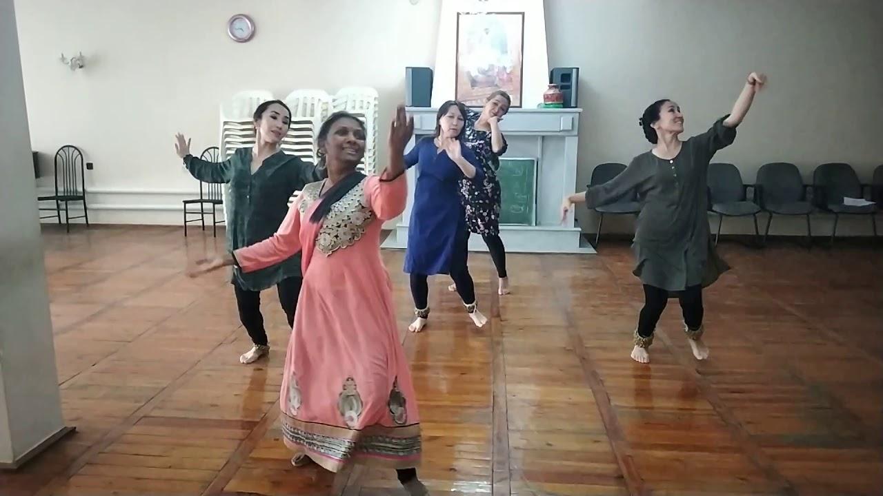 Kathak Lesson: Kathak choreography on A classical  bandish based on Malhar..