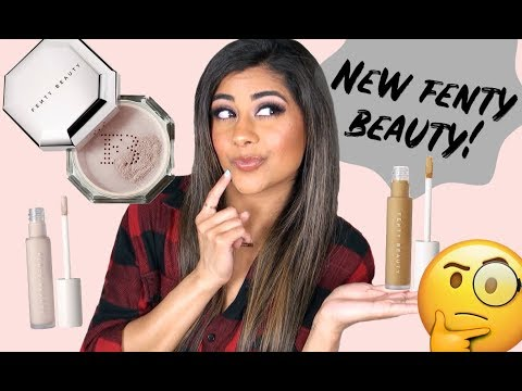 NEW Fenty Beauty Concealer & Setting Powder | Review & Demo!