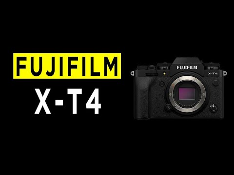 FUJIFILM X-T4 Camera Highlights & Overview -2020