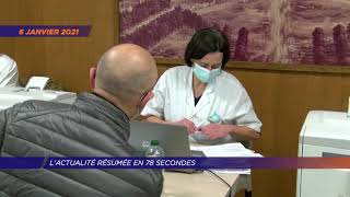 Yvelines | L'actu de la semaine en 78 secondes (du 4 au 8 janvier 2021)