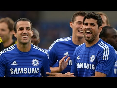 Diego Costa & Cesc Fabregas The new Chelsea DUO