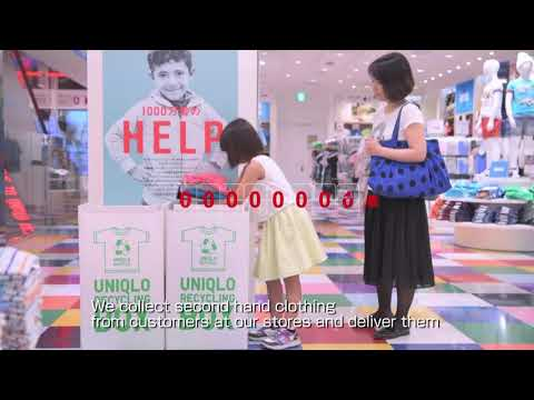 FAST RETAILING Sustainability Report 2018 (Store & Community)