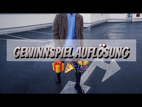 GEWINNSPIEL AUFLÖSUNG
