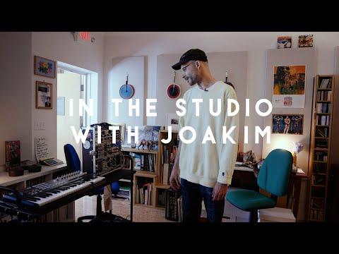 In the studio with Joakim