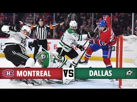 Montreal Canadiens vs Dallas Stars | Season Game 76 | Highlights (28/3/2017)