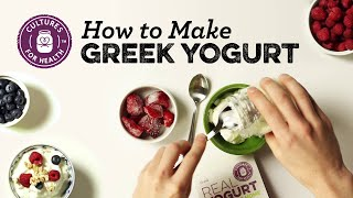 How to Make Greek Yogurt
