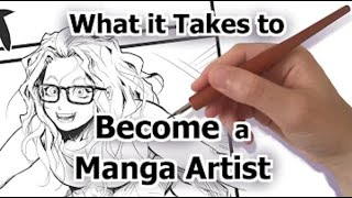 What It Takes to Become a Manga Artist