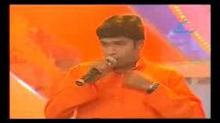 Idea star singer 2008 Vivekanand superhit song round