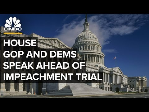 House GOP and Dems hold news conference ahead of Trump impeachment trial – 1/14/2020