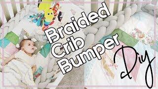 DIY: Braided Baby Crib Bumper
