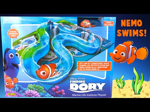 Finding Dory Marine Life Institute Playset Toy - Watch Nemo Swim in Real Water!