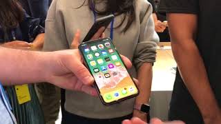 Preview of iPhone X