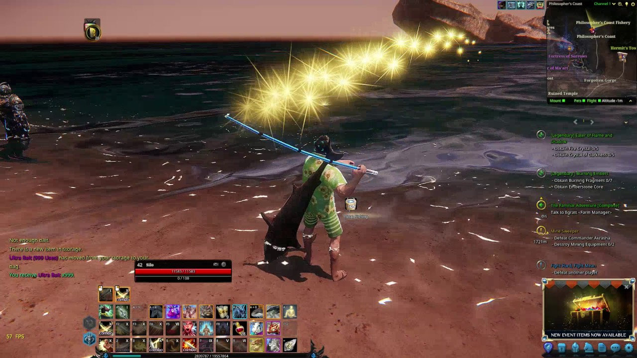 Riders Of Icarus Fishing