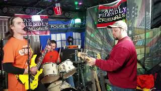 """JUST LIKE JESSE JAMES"" CHER-COVER BY THE FAMILY FRIENDLY CRIMINALS, 1/9/19 @ OURCADIA MUSIC STUDIOS"