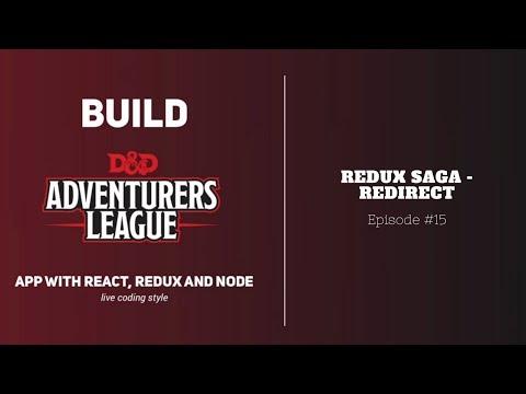 Build Real App with React #15: Redux Saga - Redirect - YouTube