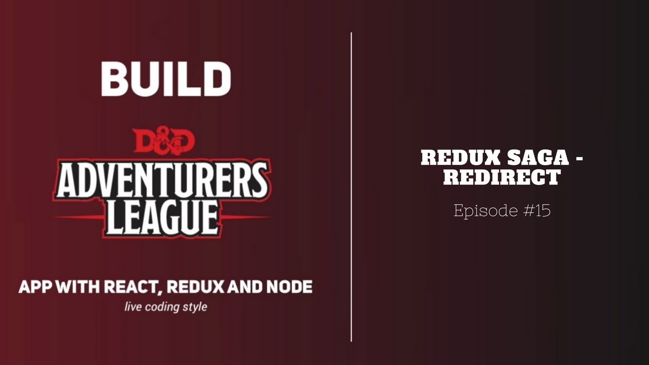 Build Real App with React #15: Redux Saga - Redirect