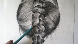 Step-by-Step: Drawing Braided Hair