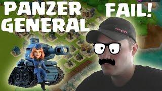 [facecam] PANZER GENERAL - FAIL!!!! || BOOM BEACH || Let's Play Boom Beach [Deutsch/German HD]