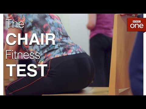 How Fit Are You? The Chair Test The Truth About Getting Fit BBC One