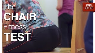 How Fit Are You?  The Chair Test - The Truth About Getting Fit - BBC One