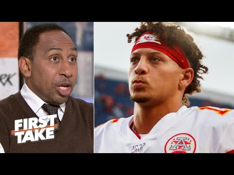 Patrick Mahomes QB sneak play wasnt a wise move  Stephen A. | First Take