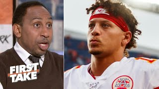 Patrick Mahomes' QB sneak play wasn't a wise move - Stephen A. | First Take