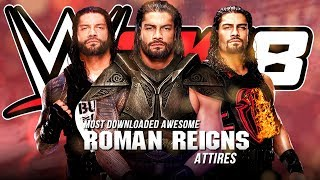 Most Downloaded Awesome Roman Reigns Creations in WWE 2K18! (Shield, NJPW, WWE)