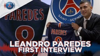 FIRST INTERVIEW - LEANDRO PAREDES (FR & UK)