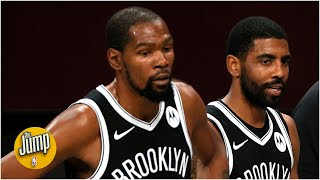 Malika andrews, richard jefferson and paul pierce joins rachel nichols on the jump to preview 2021 season for brooklyn nets, their expectations k...