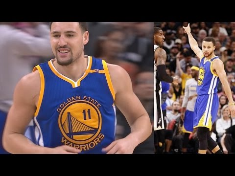 Stephen Curry Dunks It! Spurs Blew 22 Point Lead vs Warriors!