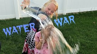 💦WATER WAR CHALLENGE💦| SHOUT OUTS!!!