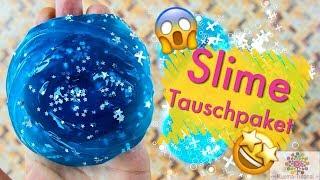 Slime Tauschpaket mit Schleim Werkstatt - WAS IST DRIN?