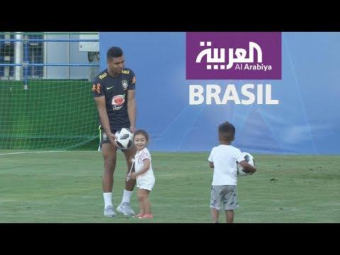 اطفال لاعبي البرازيل يشاركون في تدريباتهم في كأس العالم  - نشر قبل 20 ساعة