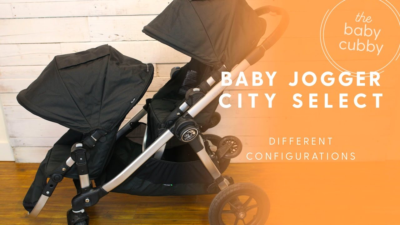 Baby Jogger City Select Stroller Configurations Youtube