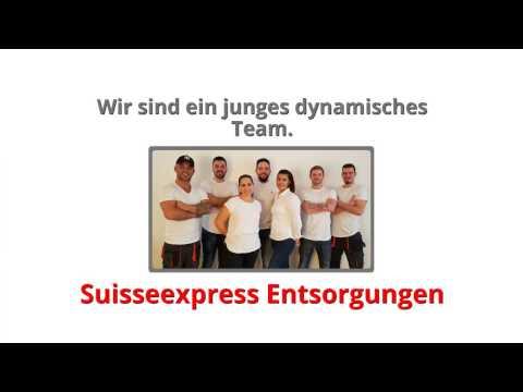 Suisse Express Entsorgungen - Räumungen/Entsorgung aus einer Hand