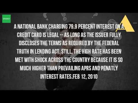 What Is The Highest Interest Rate For Credit Cards