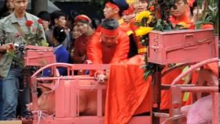 Vietnam's Nem Thuong Pig Slaughter Festival