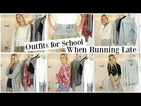 12 outfit ideas for school when running late! 8