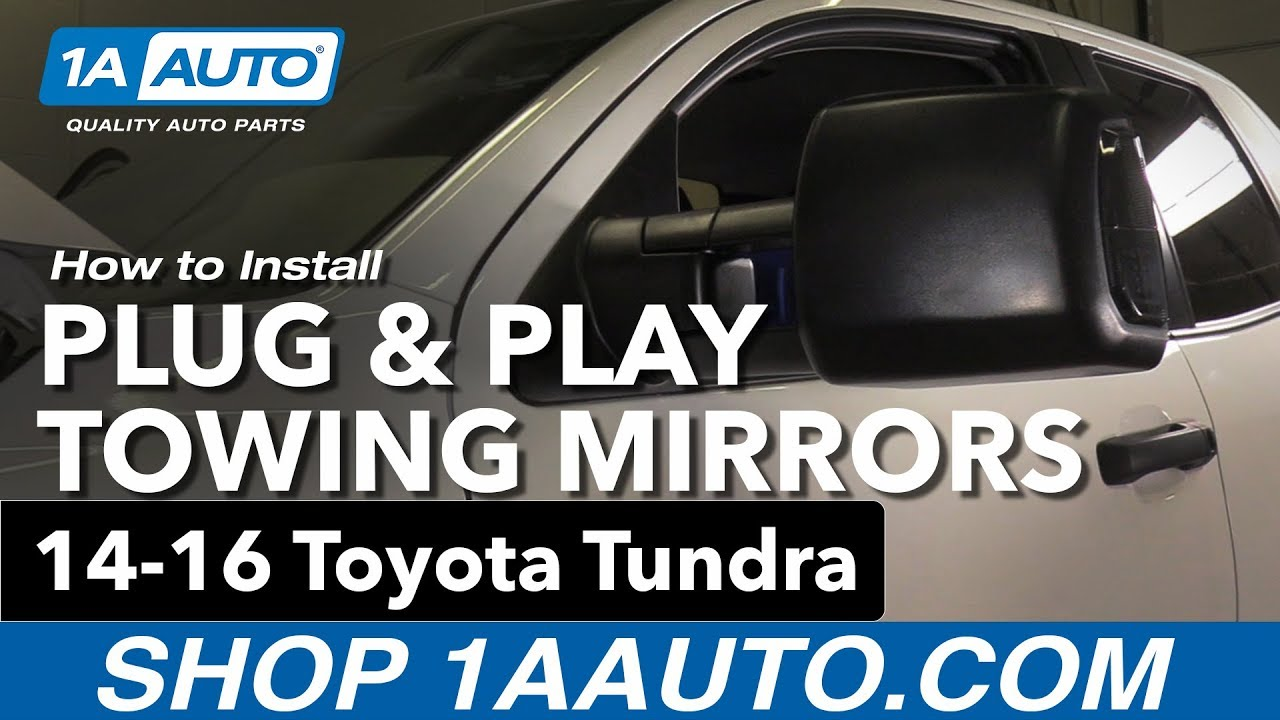 how to install trail ridge plug play tow mirrors 14 16 toyota tundra [ 1280 x 720 Pixel ]