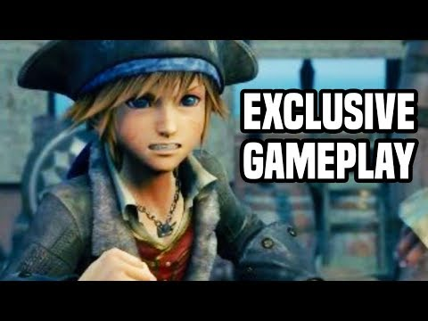 Kingdom Hearts 3 Caribbean Gameplay! EXCLUSIVE GAMEPLAY! FULL GAME STARTS SOON!