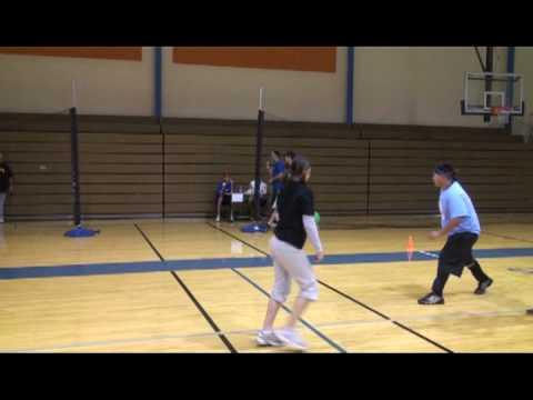 SMCC Dodgeball Tournament 2/8/09 - Fastest Throw Contest