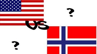 The difference between Americans and Norwegians!