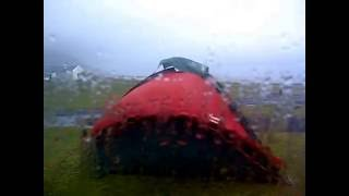 Camping in achill